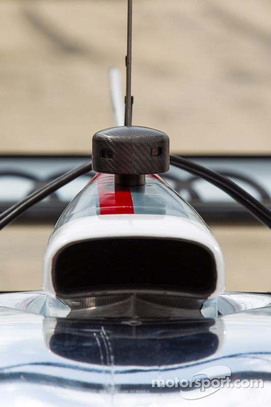 Detalhe do #2 Audi Sport Team Joest Audi R18 e-tron quattro