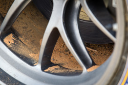 #56 BMW Team RLL BMW Z4 GTE rear wheel dirt