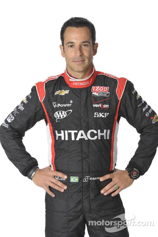 Helio Castroneves, Penske Racing