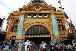 Flinders Street Station in scenic Melbourne