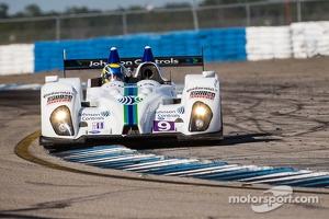 #9 RSR Racing Oreca FLM09 Oreca: Bruno Junqueira, Alex Popow