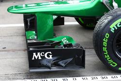 Valtteri Bottas  Williams FW35 exhaust and rear suspension