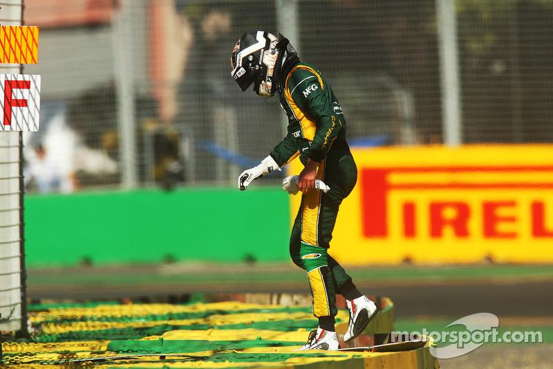 Гидо ван дер Гарде. ГП Австралии, Вторая пятничная тренировка.