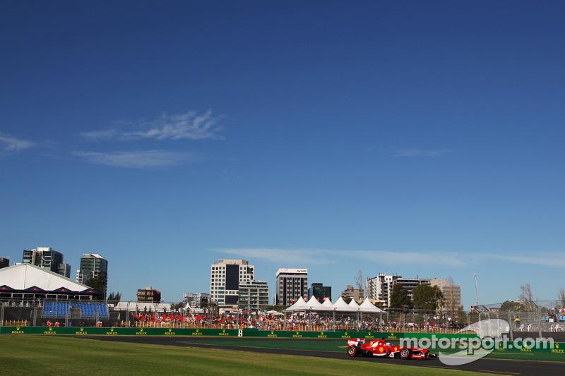 Фернандо Алонсо. ГП Австралии, Вторая пятничная тренировка.
