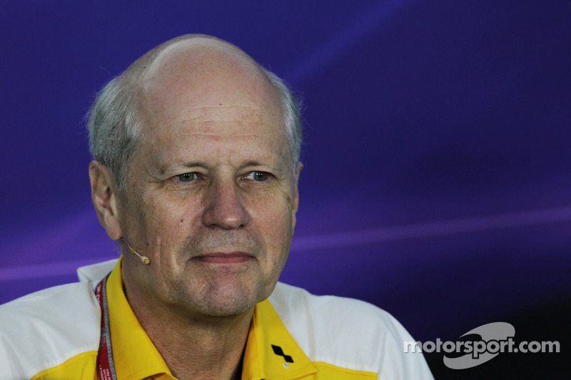 Jean-Michel Jalinier, Renault President in the FIA Press Conference