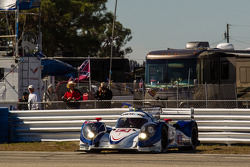 Rodada de #16 Dyson Racing Team Lola B12/60 Mazda: Chris Dyson, Guy Smith, Butch Leitzinger