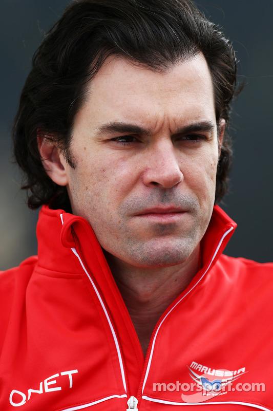 Marc Hynes, Consultor da Marussia F1 Team