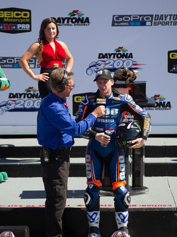Cameron Beaubier, Yamaha in victory lane