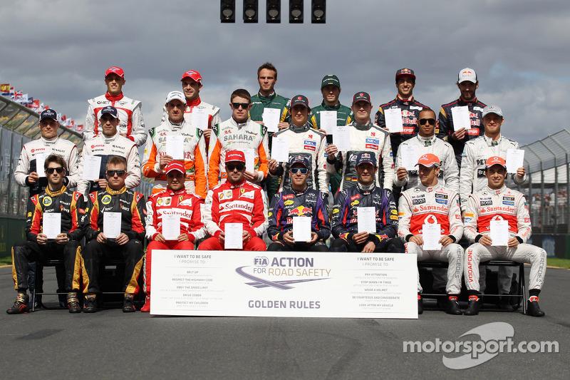 Пилоты Формулы 1 сезона-2013