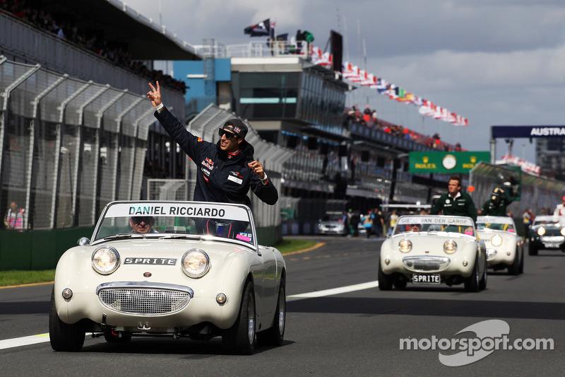 Даниэль Риккардо. ГП Австралии, Воскресенье, перед гонкой.
