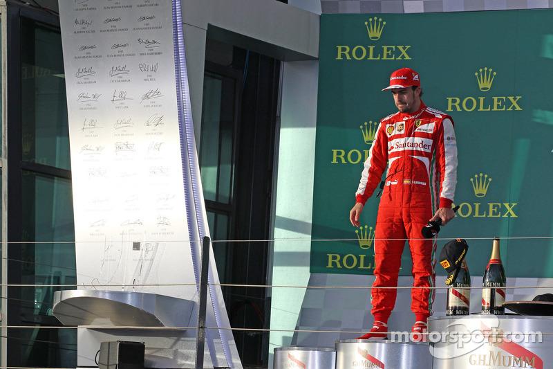 Фернандо Алонсо. ГП Австралии, Воскресенье, после гонки.