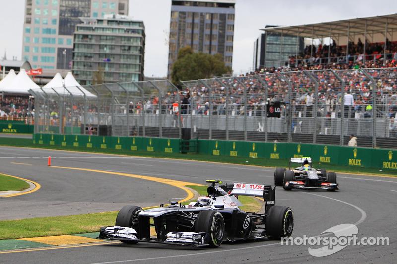 Валттери Боттас. ГП Австралии, Воскресная гонка.