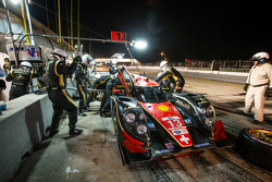 Pit stop for #13 Rebellion Racing Rebellion Lola B12/60 Toyota: Mathias Beche, Congfu Cheng, Andrea Belicchi