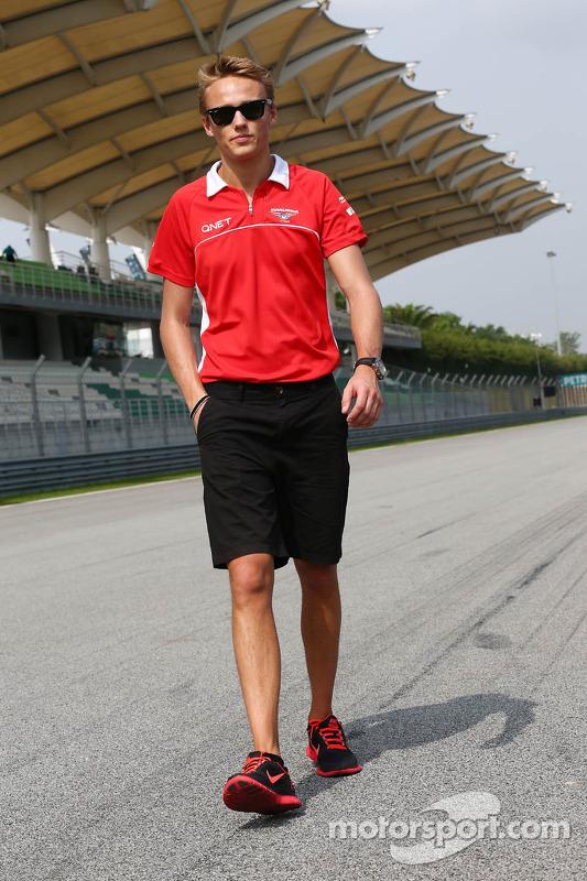 Max Chilton, Marussia F1 Team caminha no circuito