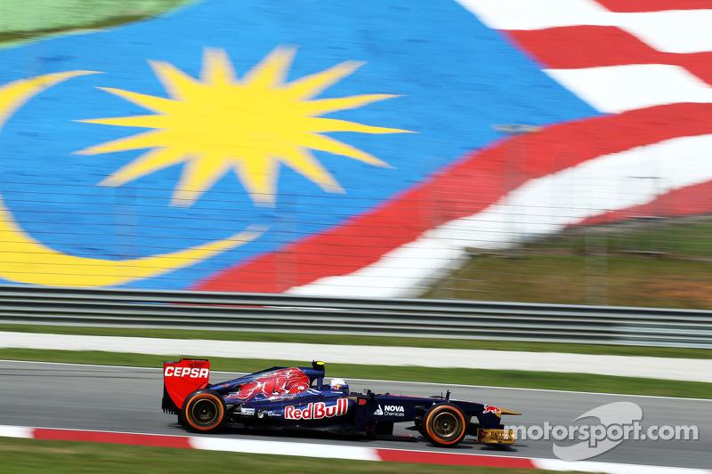 Даниэль Риккардо. ГП Малайзии, Первая пятничная тренировка.