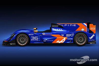 Signatech-Alpine LMP2 lancering