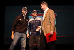 Drivers presentation: James Hinchcliffe, Andretti Autosport Chevrolet and Alex Tagliani, Bryan Herta Autosport with Curb-Agajanian Honda
