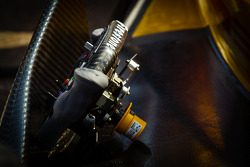 Steering wheel for Ryan Hunter-Reay, Andretti Autosport Chevrolet