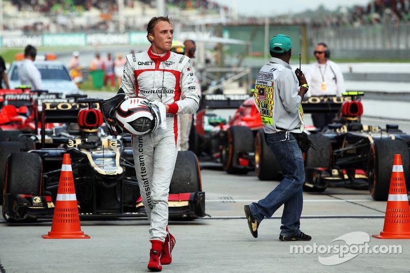 Макс Чилтон. ГП Малайзии, Воскресенье, после гонки.