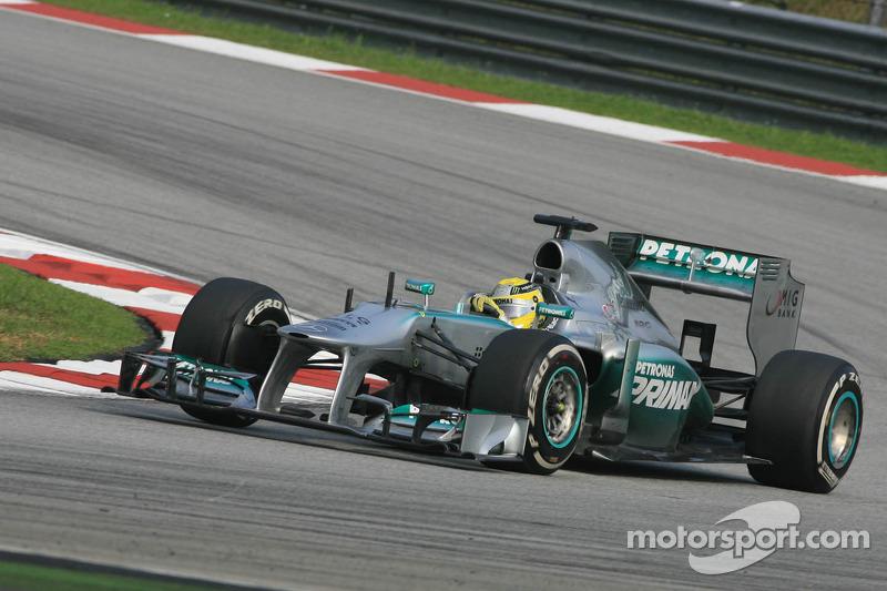 Нико Росберг. ГП Малайзии, Воскресная гонка.