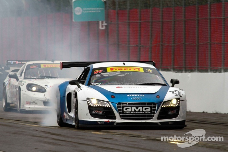 Bret Curtiss, Global Motorsports Group/Spectra Resources/United Steel Audi R8 & Duncan Ende, Global