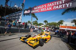 Car of Ryan Hunter-Reay, Andretti Autosport Chevrolet