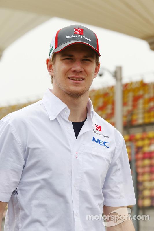 Nico Hulkenberg, Sauber caminha no circuito