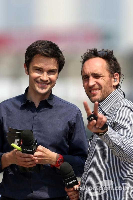 Thomas Senecal, Canal+ F1 Chief Editor en Tv-persoonlijkheid met Frank Montangy, Canal+ Tv-persoonli