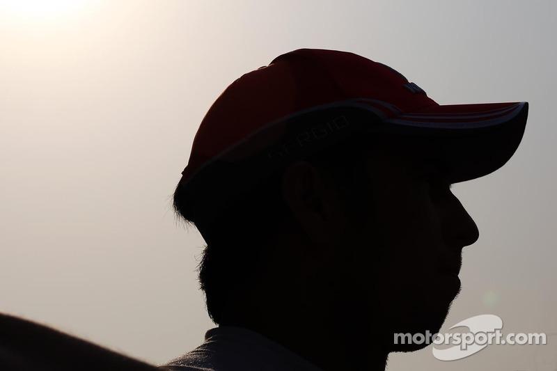 Серхио Перес. ГП Китая, Вторая пятничная тренировка.