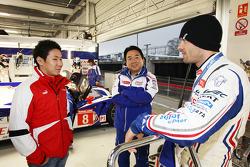 Kamui Kobayashi and Alexander Wurz, Toyota
