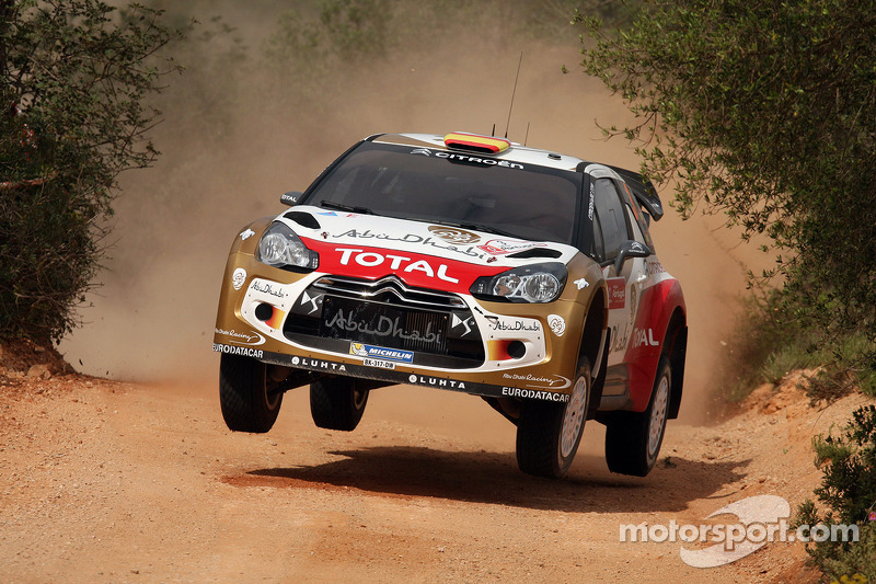 Dani Sordo, Carlos del Barrio, Citroen DS3 WRC, CitroÎn Total Abu Dhabi World Rally Team