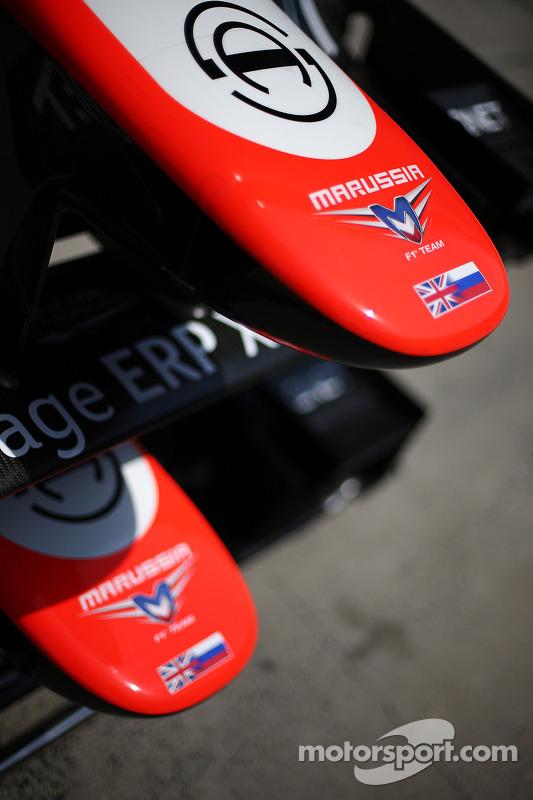 Marussia F1 Team MR02 bicos