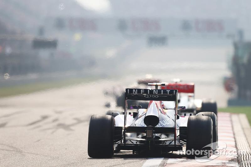 Себастьян Феттель. ГП Китая, Воскресная гонка.