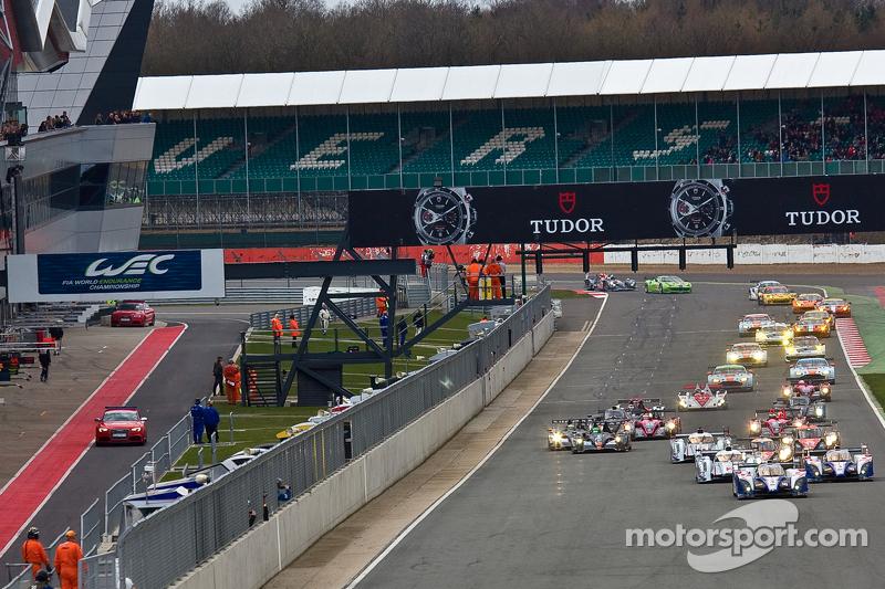 6 Hours of Silverstone start