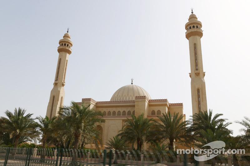 Een moskee in Manama