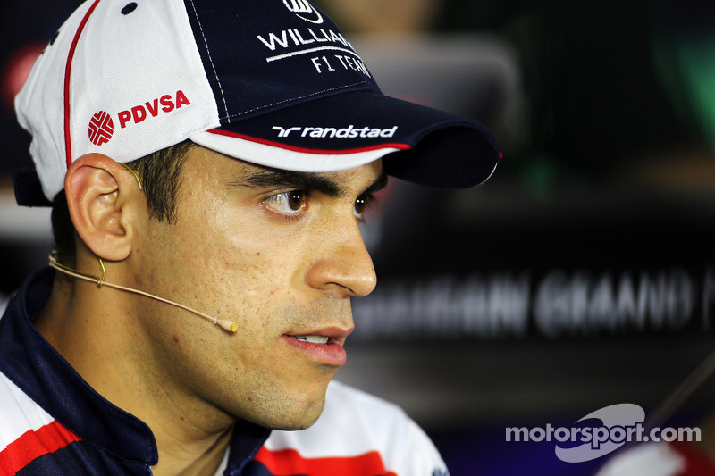 Pastor Maldonado, Williams na coletiva da FIA