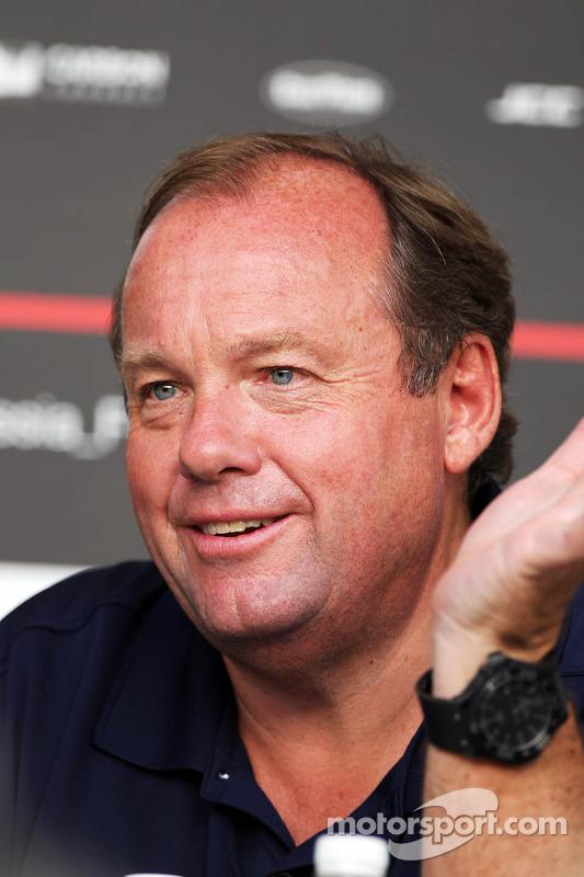 Grahame Chilton, Pai de Max Chilton, Marussia F1 Team