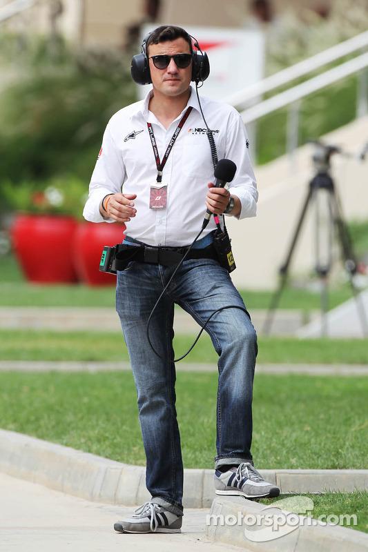 Will Buxton, apresentador da NBC Sports Network