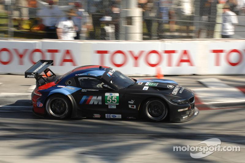 #55 MBMW Team RLL BMW Z4 GTE: Bill Auberlen, Maxime Martin