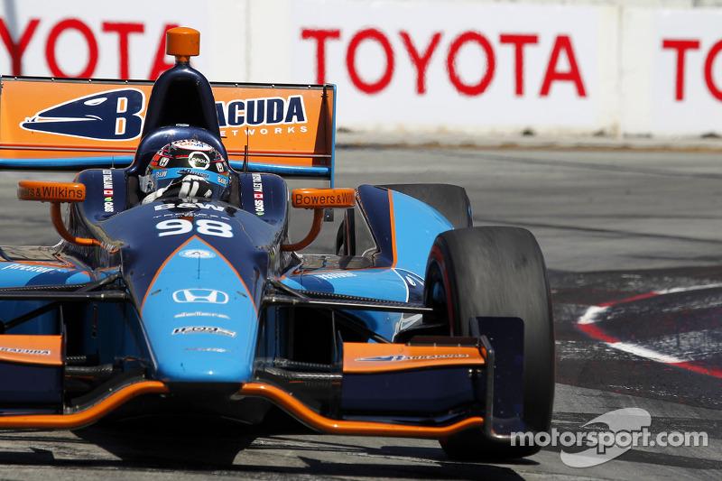 Alex Tagliani, Bryan Herta Autosport met Curb-Agajanian Honda