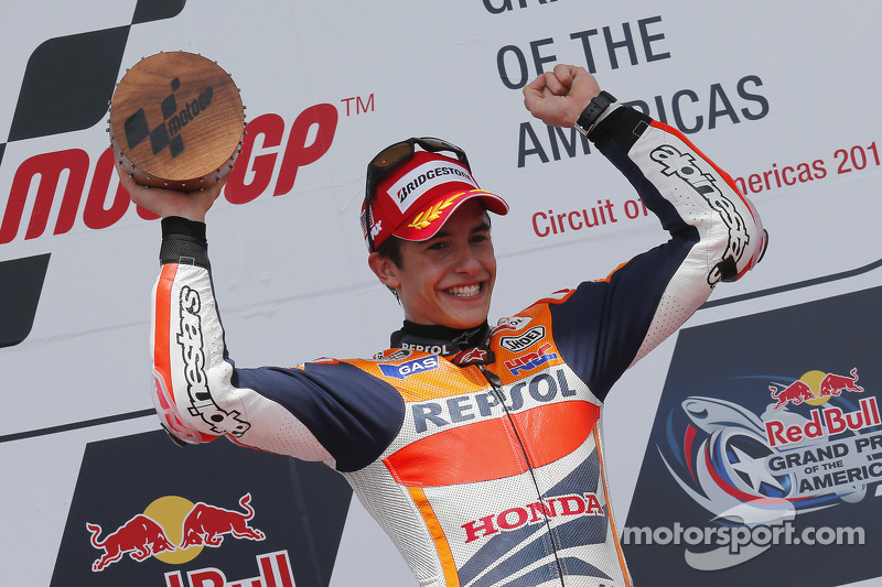 Em 2013, ano da estreia do GP das Américas, Austin foi o palco da primeira vitória de Márquez na MotoGP.