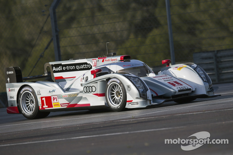 The long tail version on the Audi R18 e-tron quattro