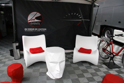 Sébastien Loeb Racing hospitality