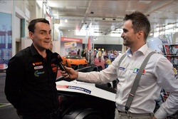 Press conference in Bratislava,  Norbert Michelisz Honda Civic, Zengo Motorsport