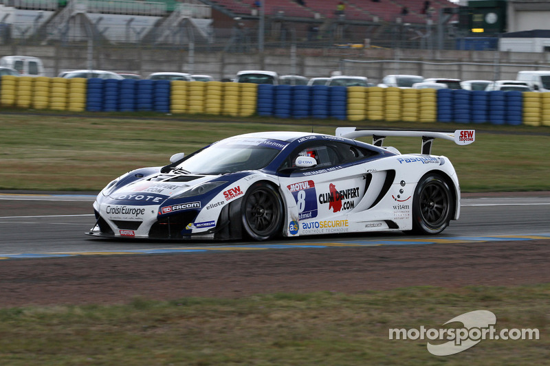 #8 Sébastien Loeb Racing Mc Laren MP4/12C: Laurent Pasquali, Anthony Beltoise