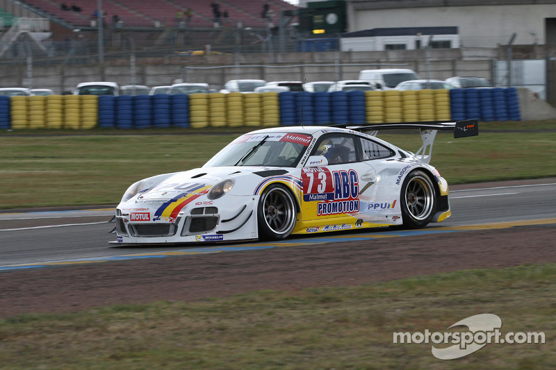#73 ASP Compétition Porsche 911 GT3 R: Jean-Paul Buffin, Philippe Ullmann