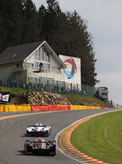 Action at Eau Rouge