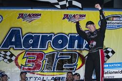 Victory lane: race winner Regan Smith