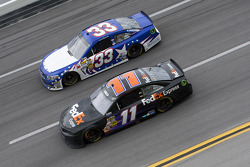 Brian Vickers and Landon Cassill