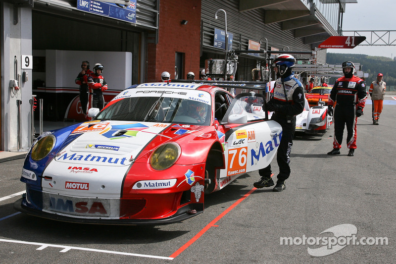 #76 Imsa Performance Matmut Porsche 911 GT3 RSR: Raymond Narac, , Jean-Karl Vernay